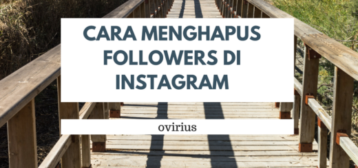 Cara Menghapus Followers di Instagram