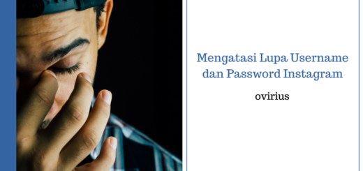 lupa username dan password Instagram
