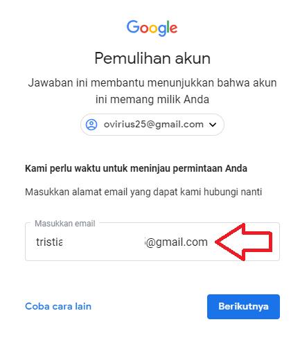 lupa password instagram dengan pertanyaan keamanan jawaban salah 2