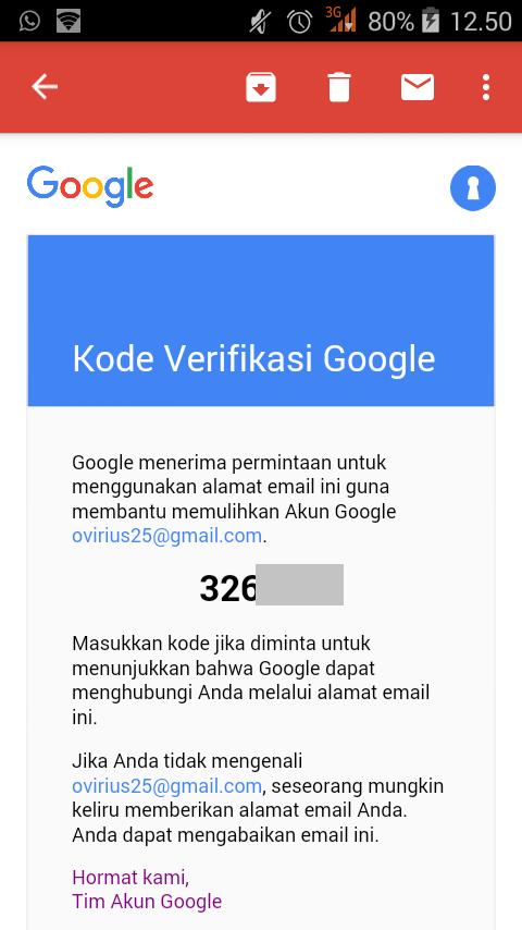 cara recovery akun google yang lupa kata sandi gmail password