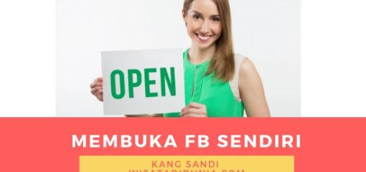 cara membuka facebook sendiri di hp