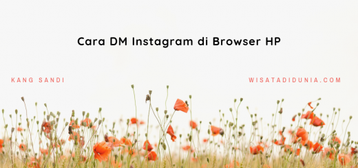 Cara DM Instagram di Browser HP