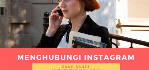 cara menghubungi instagram