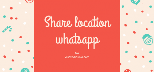cara share location di wa whatsapp