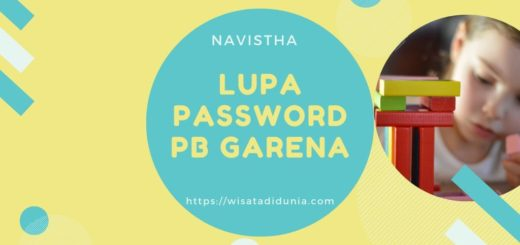 Lupa Password PB GARENA