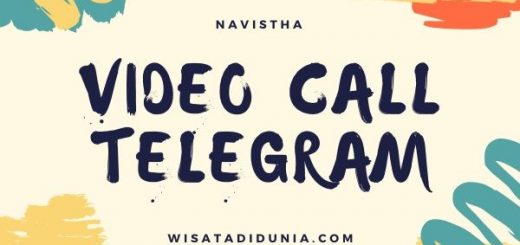 Cara video call di telegram