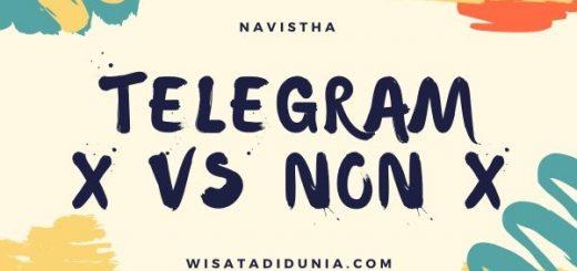 perbedaan telegram x dan telegram biasa