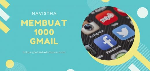 Cara Membuat 1000 Akun Gmail