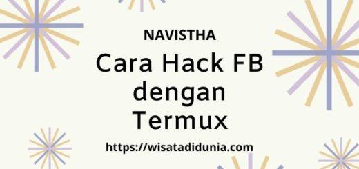 cara hack fb dengan termux