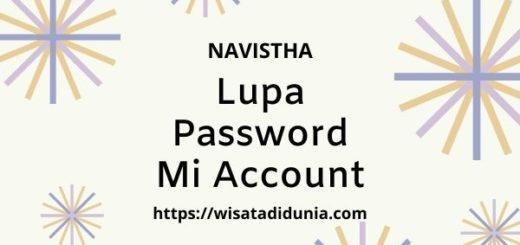 lupa password mi account