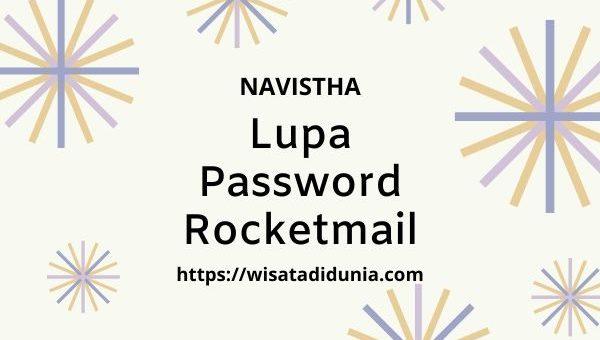 lupa password rocketmail