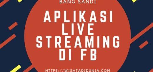 Aplikasi Live Streaming di Facebook