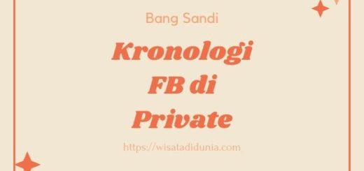 Cara Melihat Kronologi Facebook yang di Private