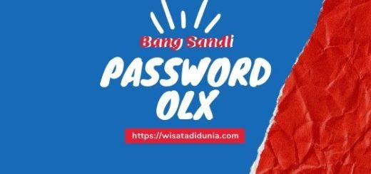 Cara Mengatasi Lupa Password Olx
