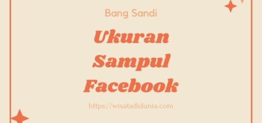 Ukuran Sampul Facebook