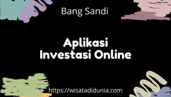aplikasi investasi online terpercaya