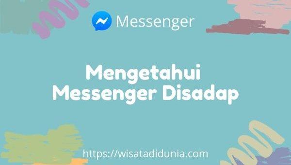 cara mengetahui messenger disadap