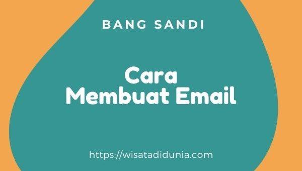 cara membuat akun email