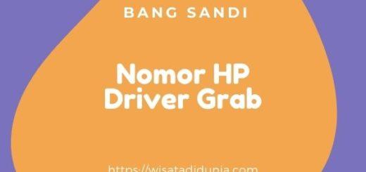 cara mengetahui nomor HP Driver Grab